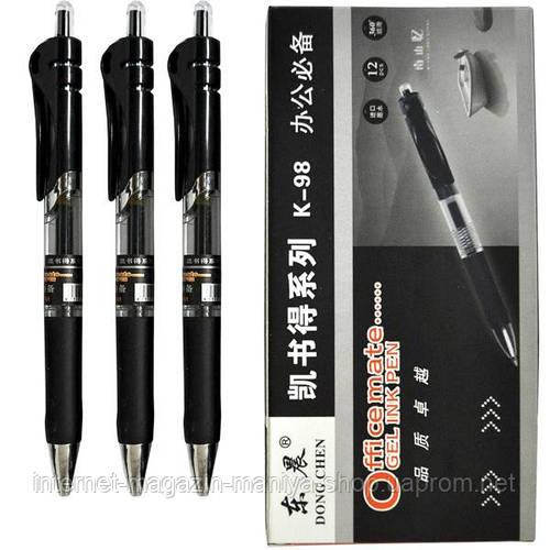 Ручка гелевая 98 черн