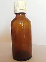 Флакон из коричневого стекла 50 мл, для капель