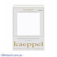 Трикотажная белая простынь на резинке KAEPPEL (Германия)