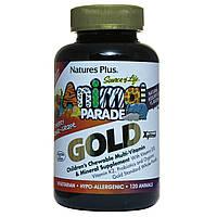 Витаминно-минеральный комплекс для детей Nature's Plus Animal Parade, 120 таблеток