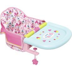 Подвесной стульчик для кормления кукол пупса Беби Борн Baby Born Zapf Creation 825235