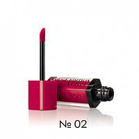Жидкая матовая помада для губ Bourjois Rouge Edition Velvet Lipstick (02-малиновый)
