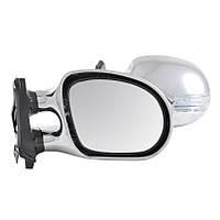 Зеркала боковые Condor, универсальные хром с LED поворотом, 2шт