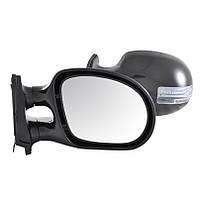 Зеркала боковые Condor, универсальные черные с LED поворотом, 2шт