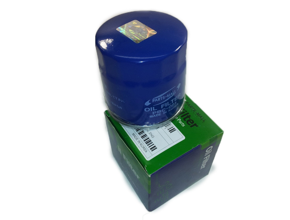 Фильтр масляный Ланос, AVEO 1,5i, Parts-Mall P96352845, PBC-001