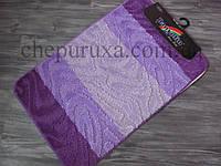 Комплект ковриков в ванную и туалет Banyolin 80*50 см