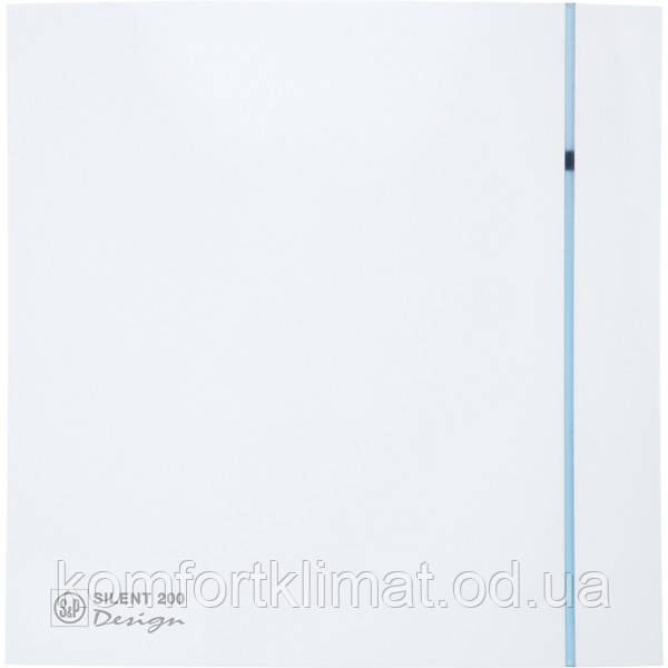 Вытяжной вентилятор SILENT-200 CRZ DESIGN - 3C (230V 50)(230V 50), Soler & Palau