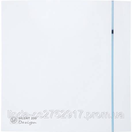 Вытяжной вентилятор SILENT-200 CRZ DESIGN - 3C (230V 50)(230V 50), Soler & Palau, фото 2