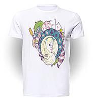 Футболка GeekLand Алиса в Стране чудес Alice in Wonderland Alice art AW.01.001