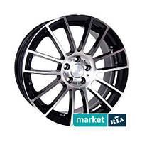 Литые легкосплавные диски Racing Wheels H-408 BK-F/P (R17 W7.5 PCD5x112 ET35 DIA73.1)