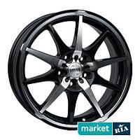 Литые легкосплавные диски Racing Wheels H-410 BK-F/P (R17 W7 PCD5x112 ET40 DIA73.1)