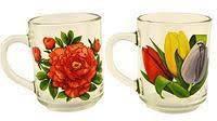 """Кружка чайная  """"Цветы"""" 320мл., фото 2"""