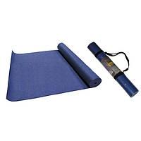 Коврик для фитнеса 5мм  (р-р 1,73м*0,61м*5мм, PL чехол)
