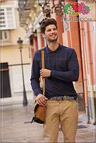 Рубашка поло с длинным рукавом 63-310-0