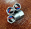 Колпачки на ниппель с логотипом BMW  ///M - алюминиевые