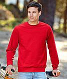 Мужской свитшот, батник, реглан мужской, свитер  Fruit of the loom, фото 2