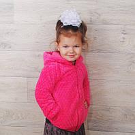 Куртка Ветровка Кофта теплая на Девочку 3-5 лет
