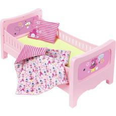 Кроватка для куклы Беби Борн сладкие сны Baby Born Zapf Creation 824399