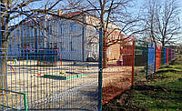 Панельный забор 3 D из сварной сетки 3х4мм, 4х4мм, 5х5мм