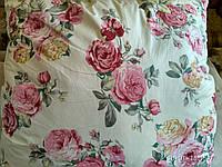 Подушка хлопковая гипоаллергенная розы