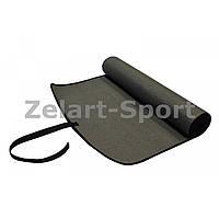 Коврик для фитнеса  6мм PS B-1007  (р-р 1,7м*0,6м*6мм)