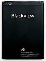 Аккумуляторная батарея Original A5 для мобильного телефона Blackview A5, 2000mAh