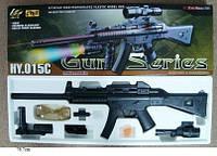 Автомат с пульками спецназ ФРГ, лазер, фонарик, Heckler & Koch MP5, фото 1