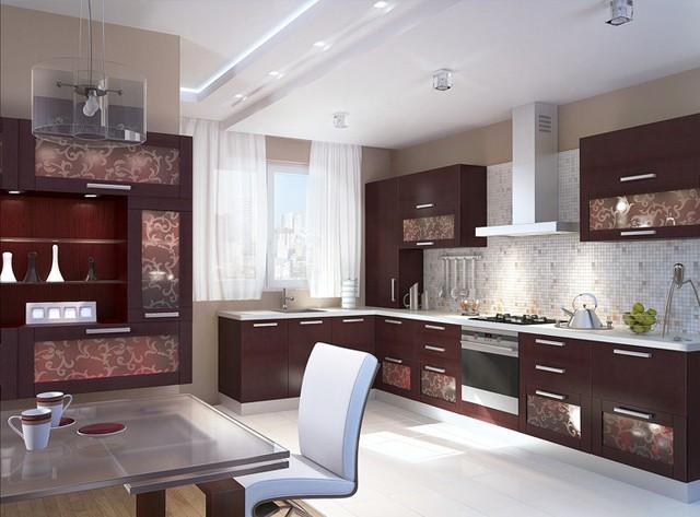 Выбор фасадов для кухни на заказ