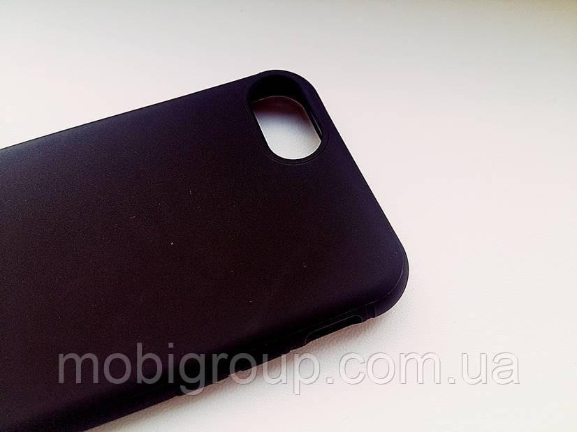 Силиконовый плотный матовый чехол iPhone 7