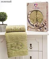 Комплект полотенец TWO DOLPHINS махра  50x90 и 70х140