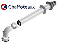 Коаксиальный горизонтальный комплект Ø60/100 мм Chaffoteaux