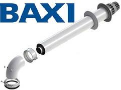 Коаксиальный горизонтальный комплект Ø60/100 мм BAXI