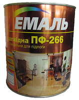 Емаль ПФ-266 червоно-коричнева / 2.8 кг. / Хімтекс (бан.)
