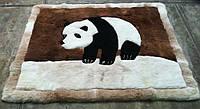 Ковер панда, купить ковер с медведем, ковер из меха мишка, фото 1