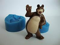Силиконовый молд Медведь 3D