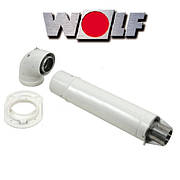 Комплект для коакс. дим. 750 мм, Ø 60/100 мм (Condensing) WOLF