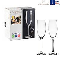 Набор бокалов для шампанского C&S Cabernet 240мл 6шт