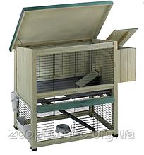 Дерев'яна клітка для кроликів RANCH 100 BASIC FERPLAST