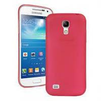 Чехол для Samsung Galaxy S4 Mini I9190 красный