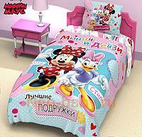 Детское постельное белье Минни и Дейзи