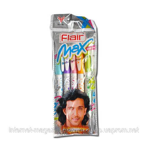 «Max» Flair ручка син.