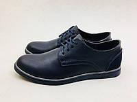 Мужские туфли POLO Ralph Lauren синие