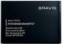 Аккумуляторная батарея Original TREND для мобильного телефона Bravis Trend, 2000mAh
