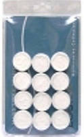 Маска с прорезями для глаз отдельной таблеткой 1 шт.