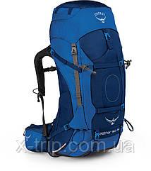 Рюкзак туристический Osprey Aether AG 60 Синий