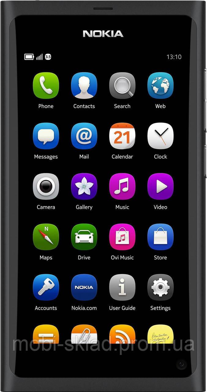 "Nokia N9, AMOLED-дисплей 3.9"", 16GB, 8 Mpx, GPS (A-GPS), 3G."