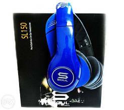 Наушники SOUL SL150 HD BLUE