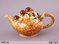 Чайник Грибная поляна 25х14 см, 58-747