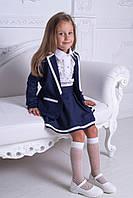 Модный школьный костюм: юбка и пиджак, для девочки, 122 - 152. Детский, подростковый комплект школа.
