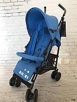 Коляска-трость Delti Liv Blue синяя